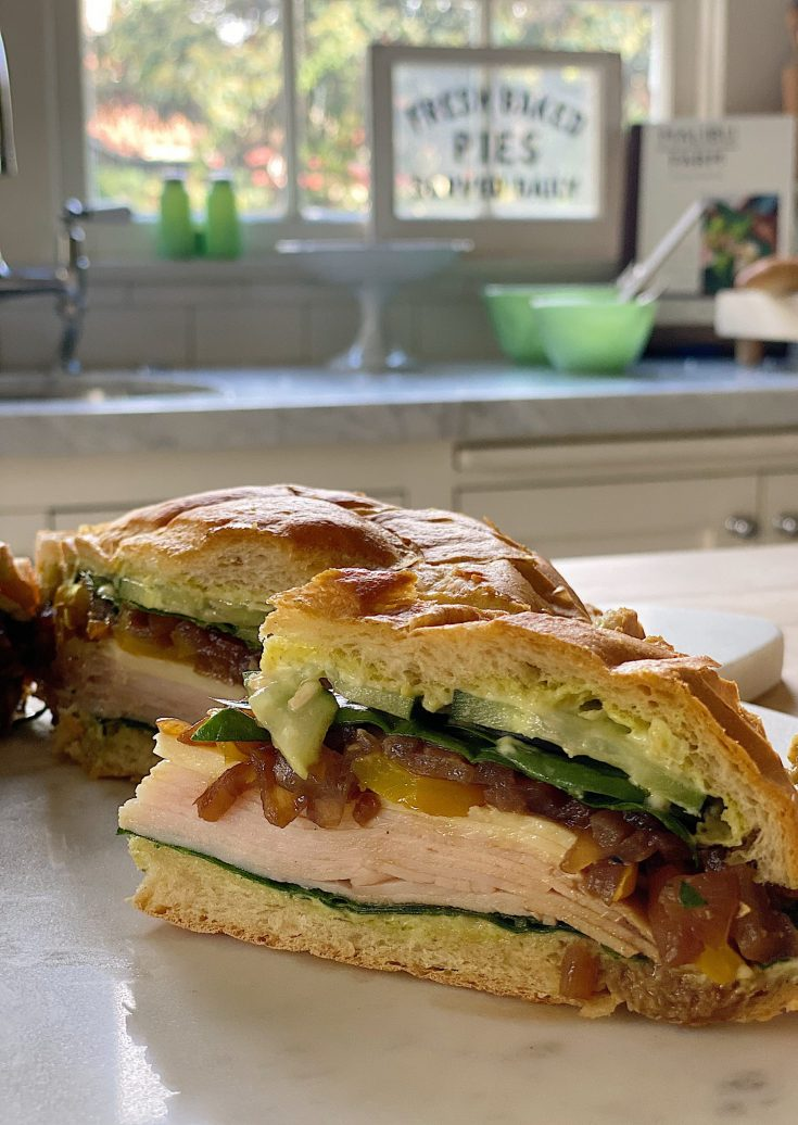 Overnight Pressed Nine Layer Sandwich