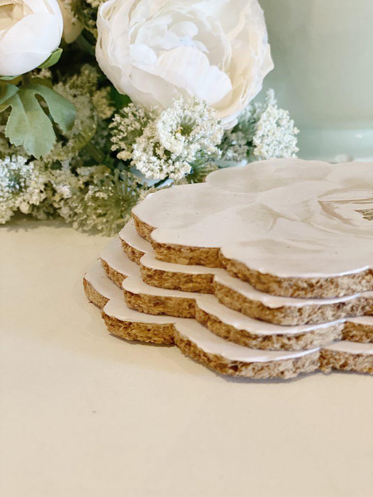 Paper Crafts Cork Coasters DIY