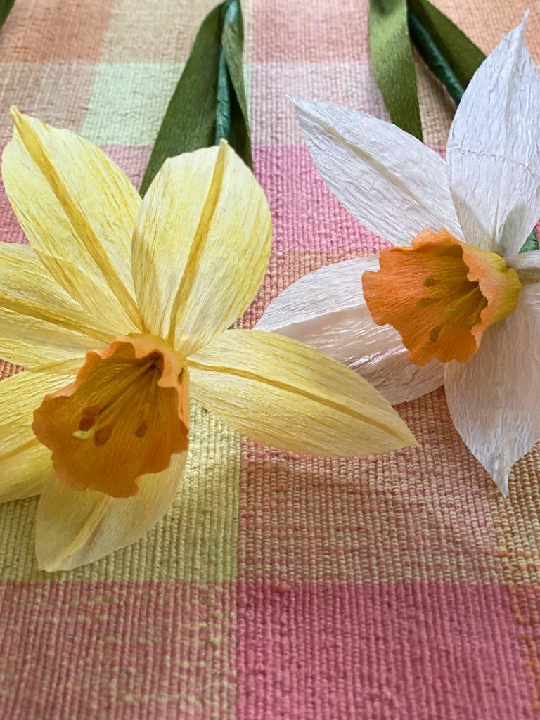 Paper Flower Daffodils