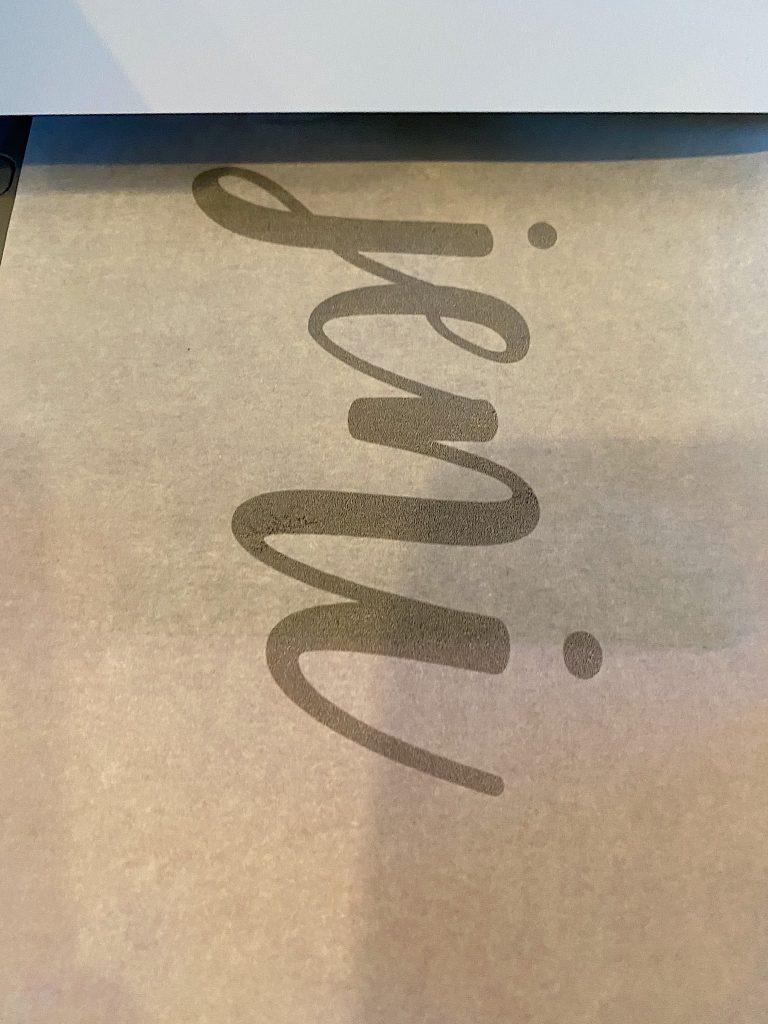Printing the Names