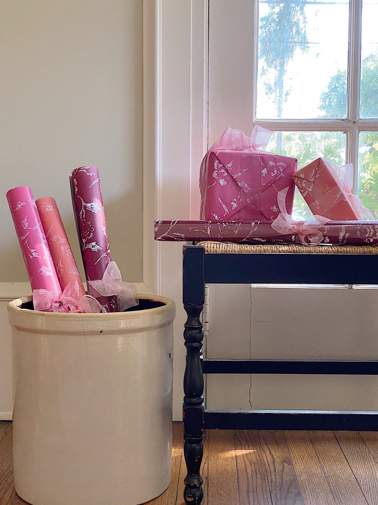 Spring Wrapping Paper - Easy Paper Crafts