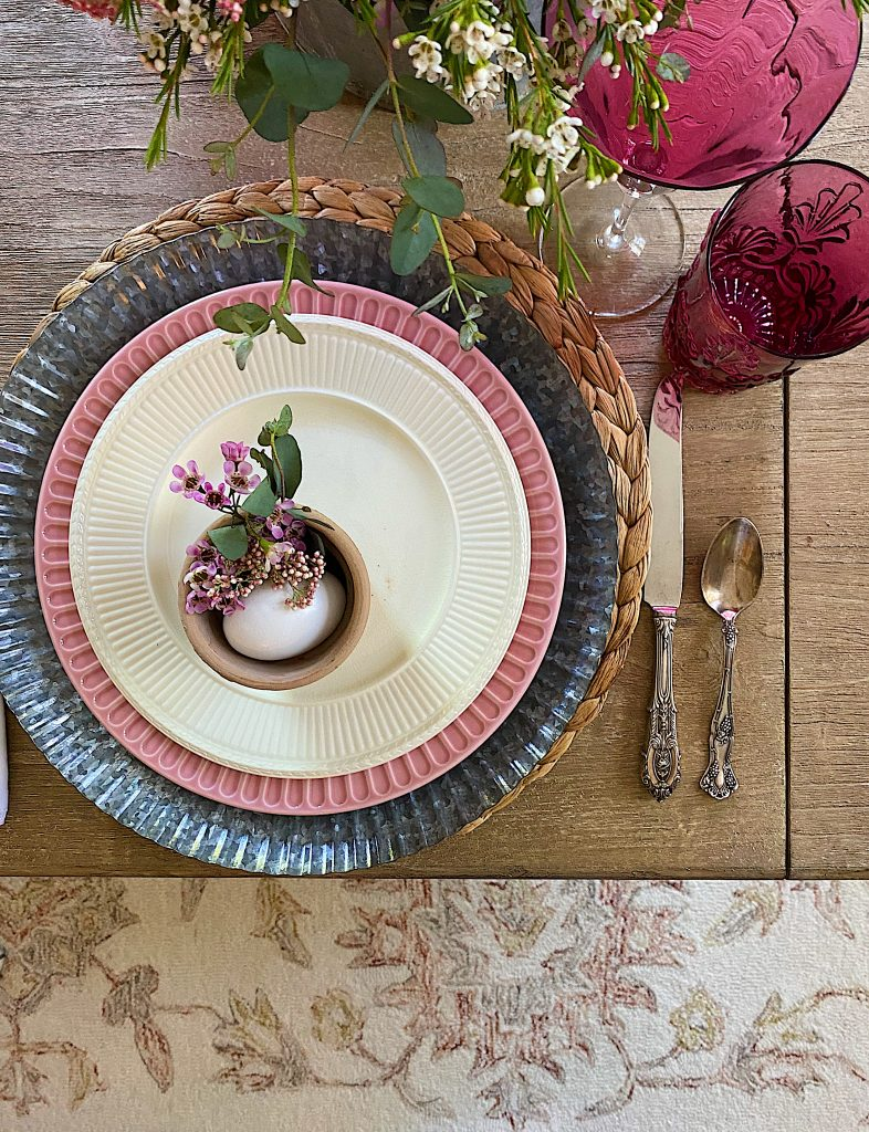 Table Setting and Rug