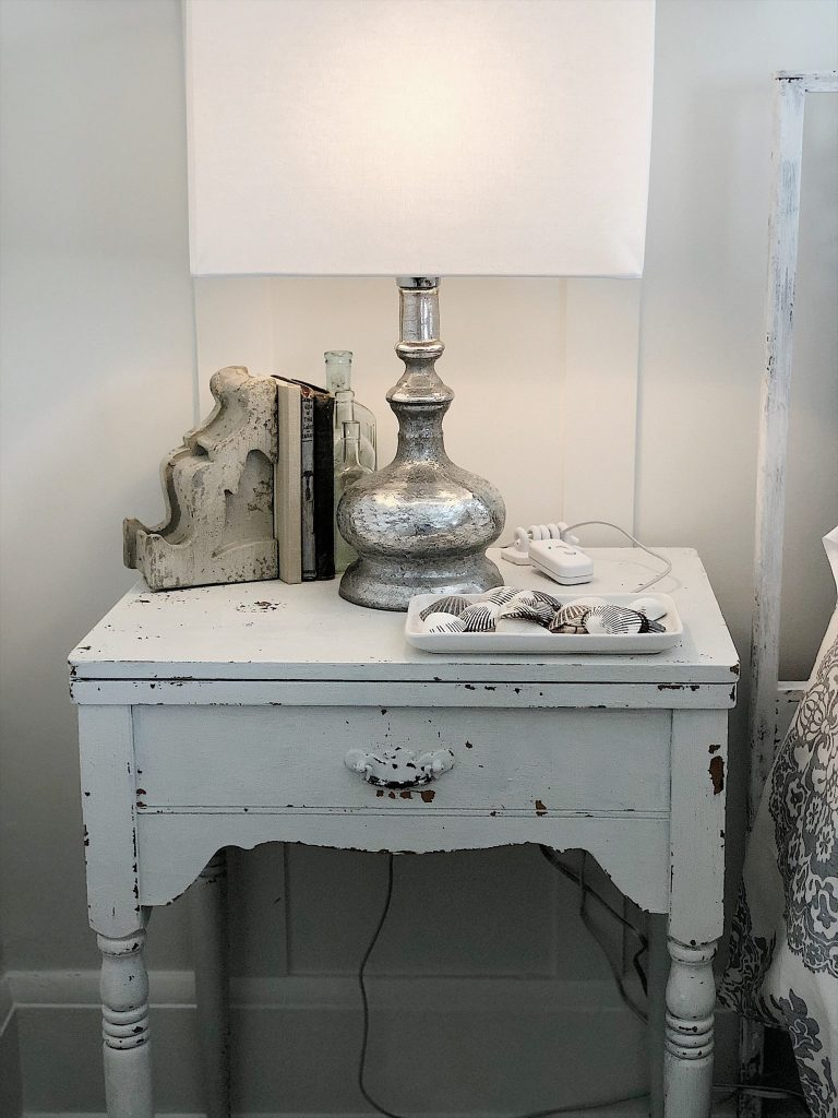 Vintage Bedroom Nightstand