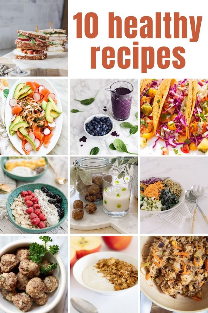10 Healthy Recipes