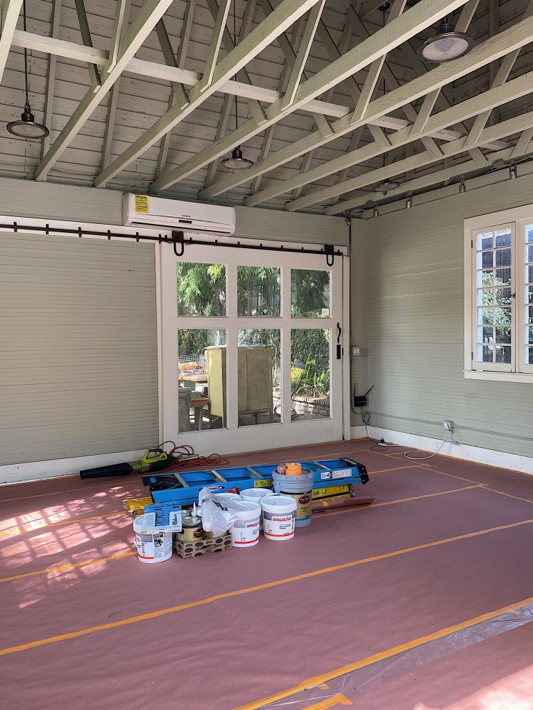 Carriage House Before Painted Photo