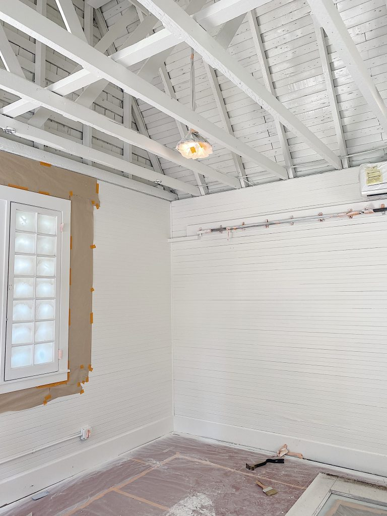 Carriage House Painted White