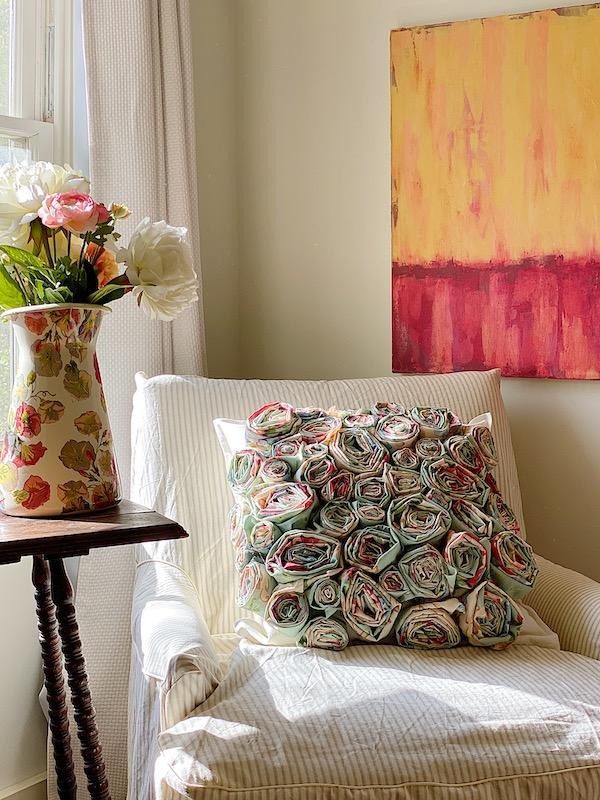How to Make a Flower Craft Pillow