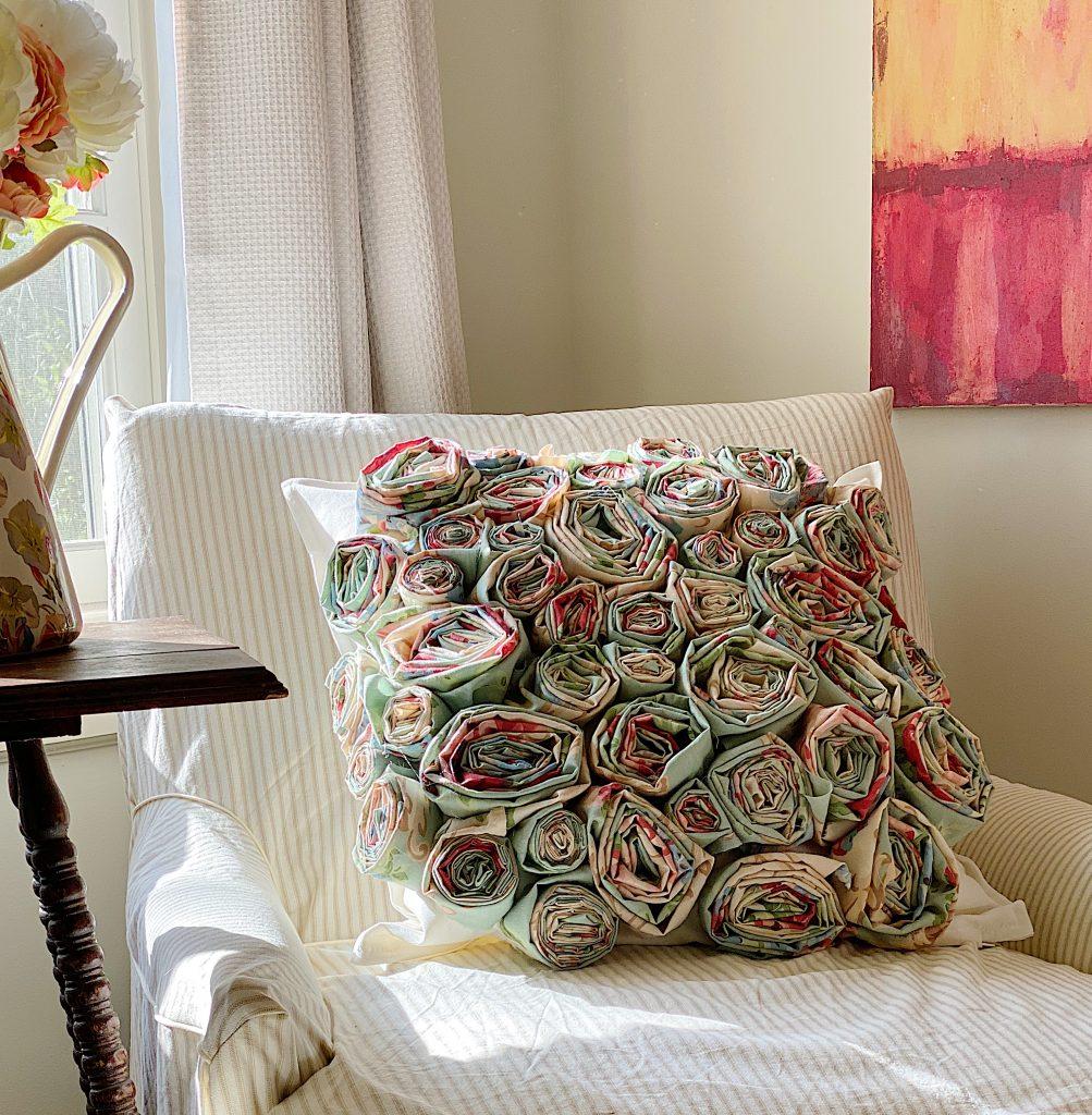 How to Make a Flower Craft Pillow 5