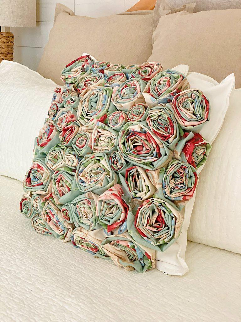 How to Make a Flower Craft Pillow 7