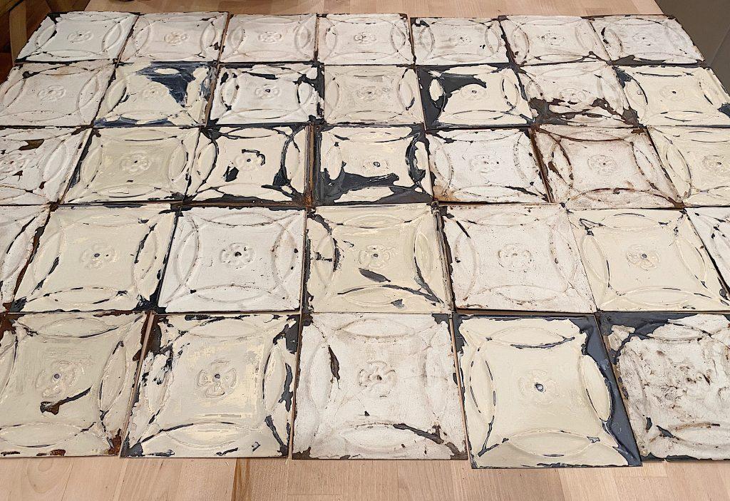 How to Tile a Backsplash with Vintage Tiles