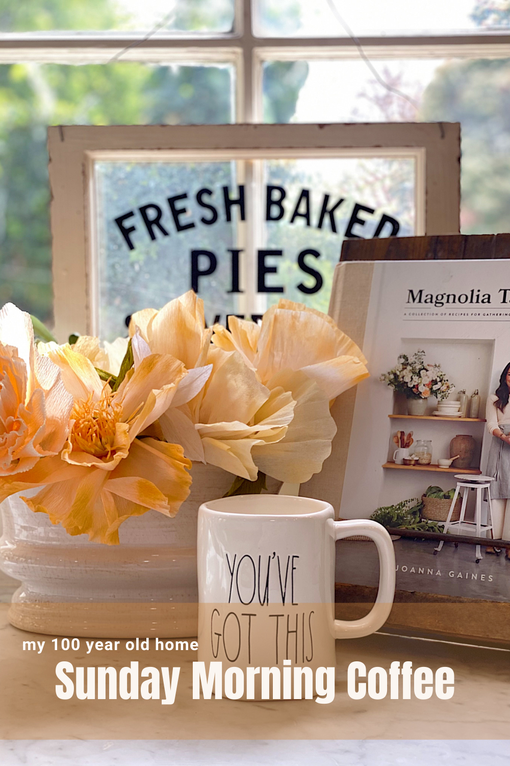 I am so excited to share with you Sunday Morning Coffee. This is a place to share, learn, explain, dream, and have fun. Today I am sharing my weekly thoughts about entertaining, decor, crafts, and recipes, and my theme for April ... Just Do It Yourself!