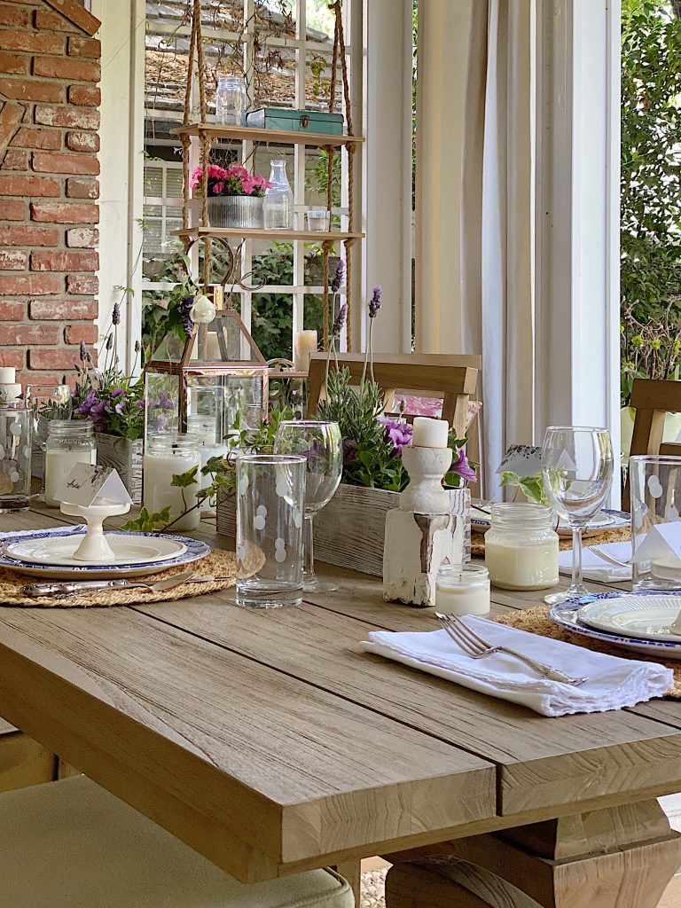 Table for Dining Outdoors