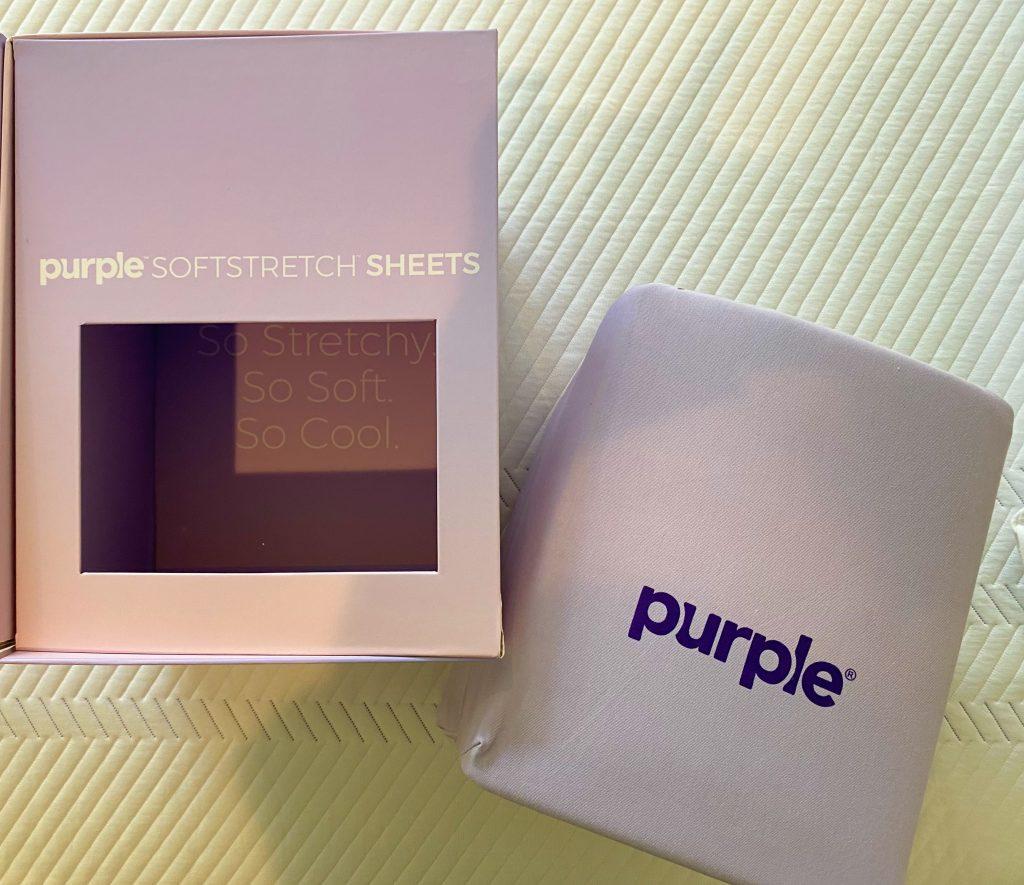 The Purple Mattress Softstretch Sheets