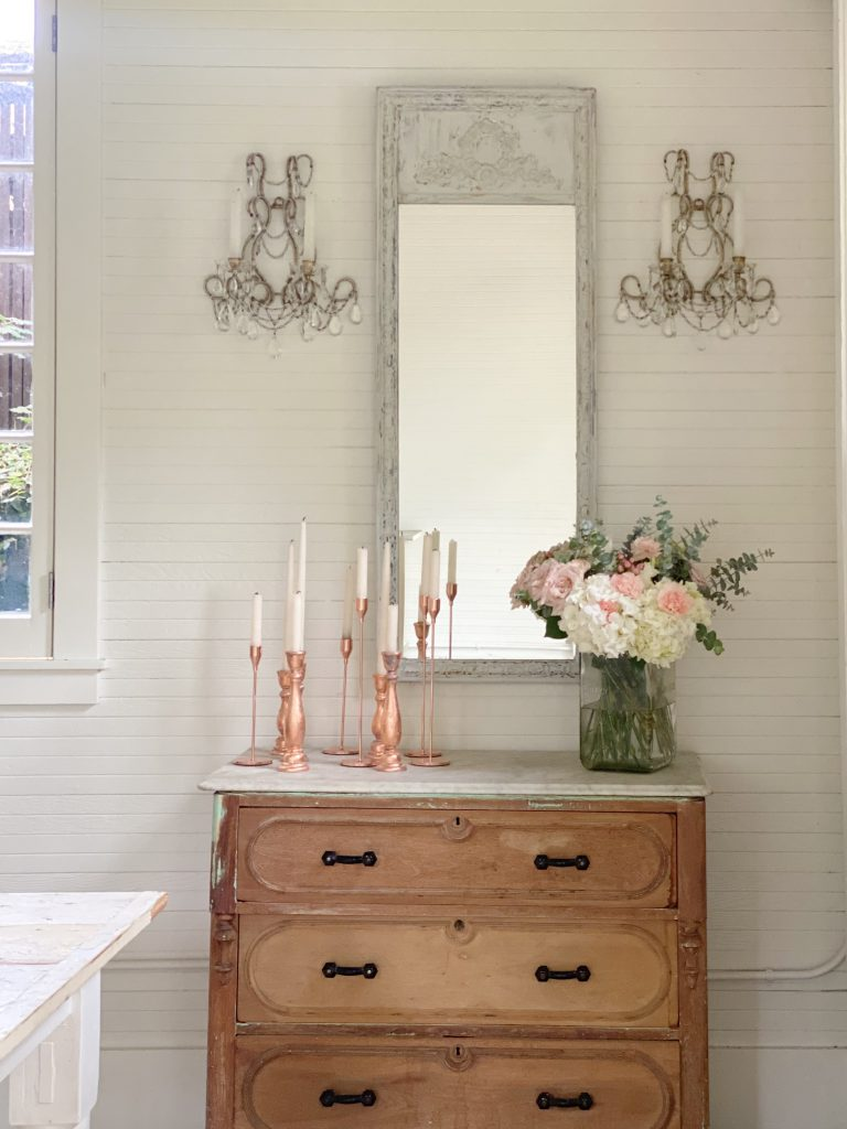 Adding the Sconces and Candles