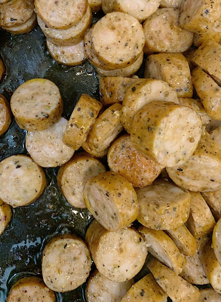 Cooking Chicken Sausage