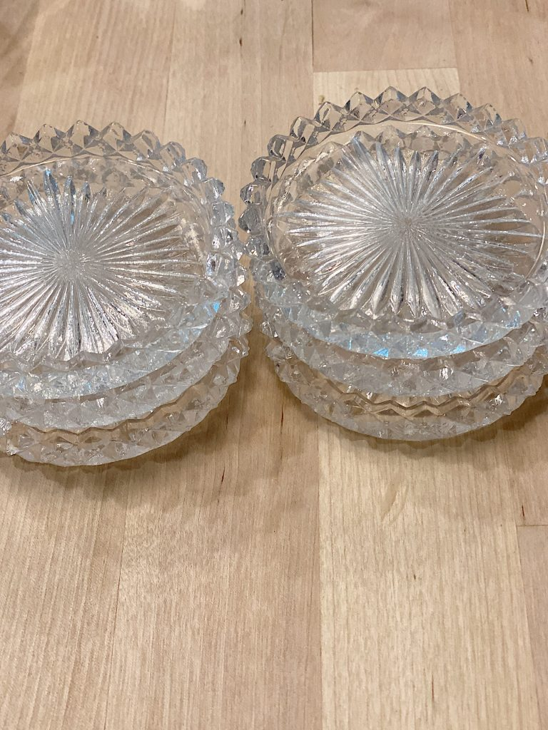 Cut Glass Rounds
