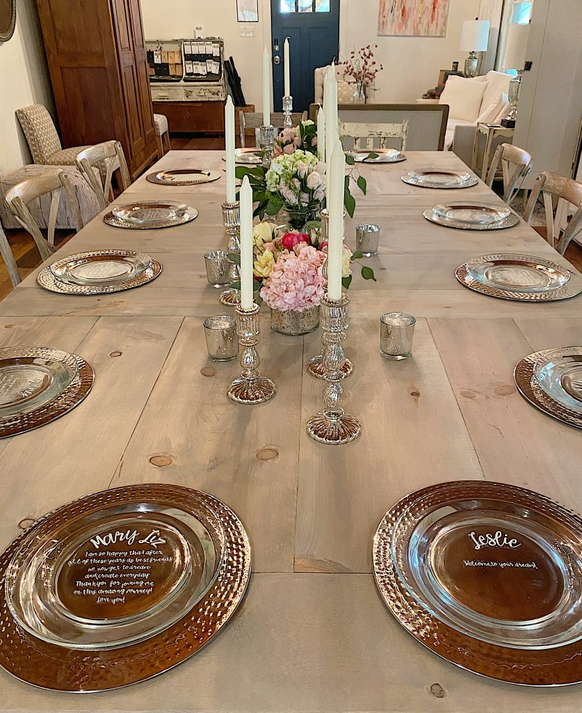 Dinner with Friends Table