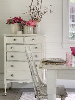 Finishing the Furniture with Milk Paint