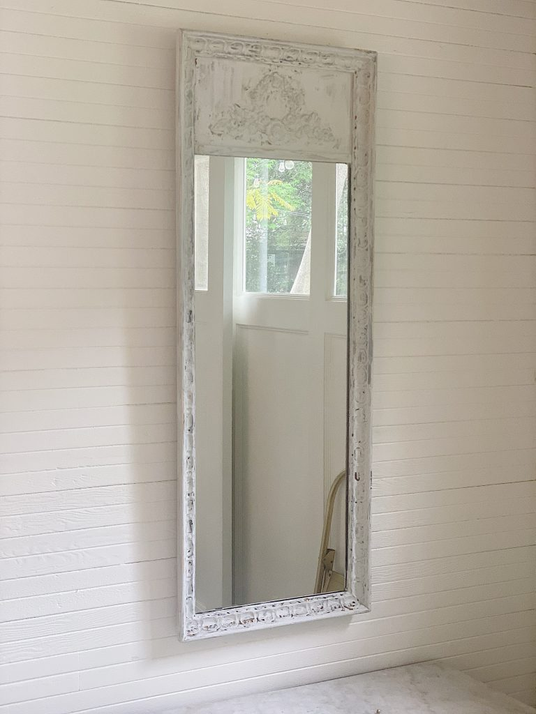 Hanging the DIY Mirror