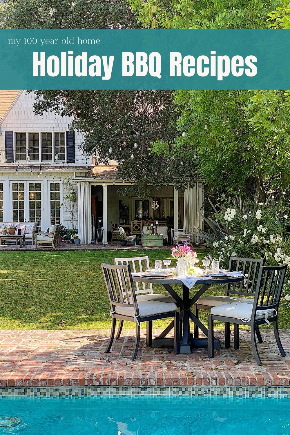 Summer days are almost here! Memorial Day marks the beginning of summer for me. Days spent outside in the sunshine. Dinners by the pool. And, my favorite BBQ recipes!