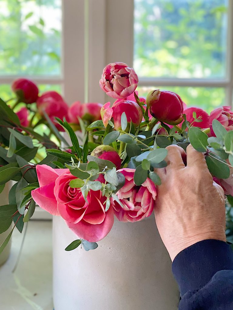 How to Gather Flowers in a Vase
