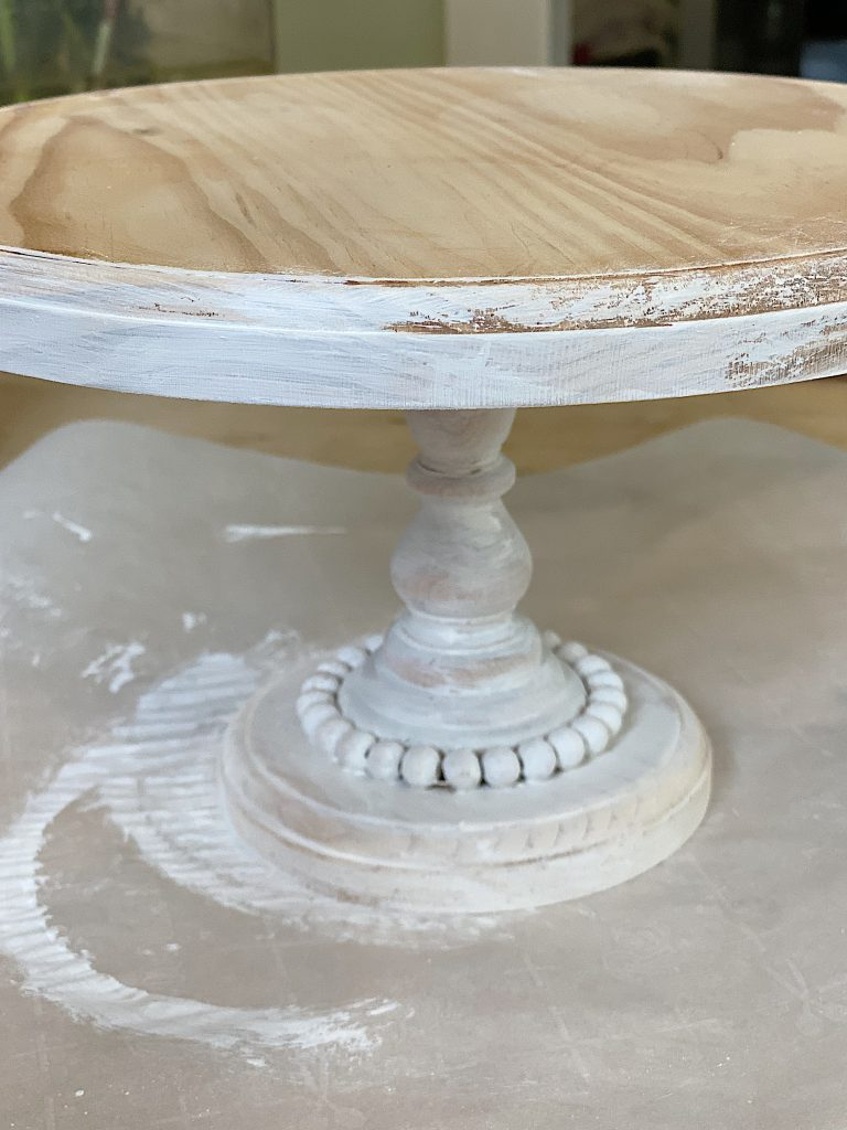 How to Make a Wood Cake Stand 8