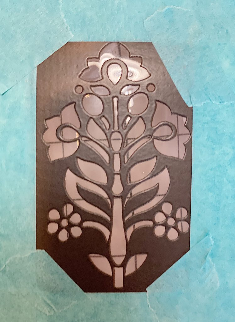 How to Make an Olive Oil Container with Peel and Stick Stencil