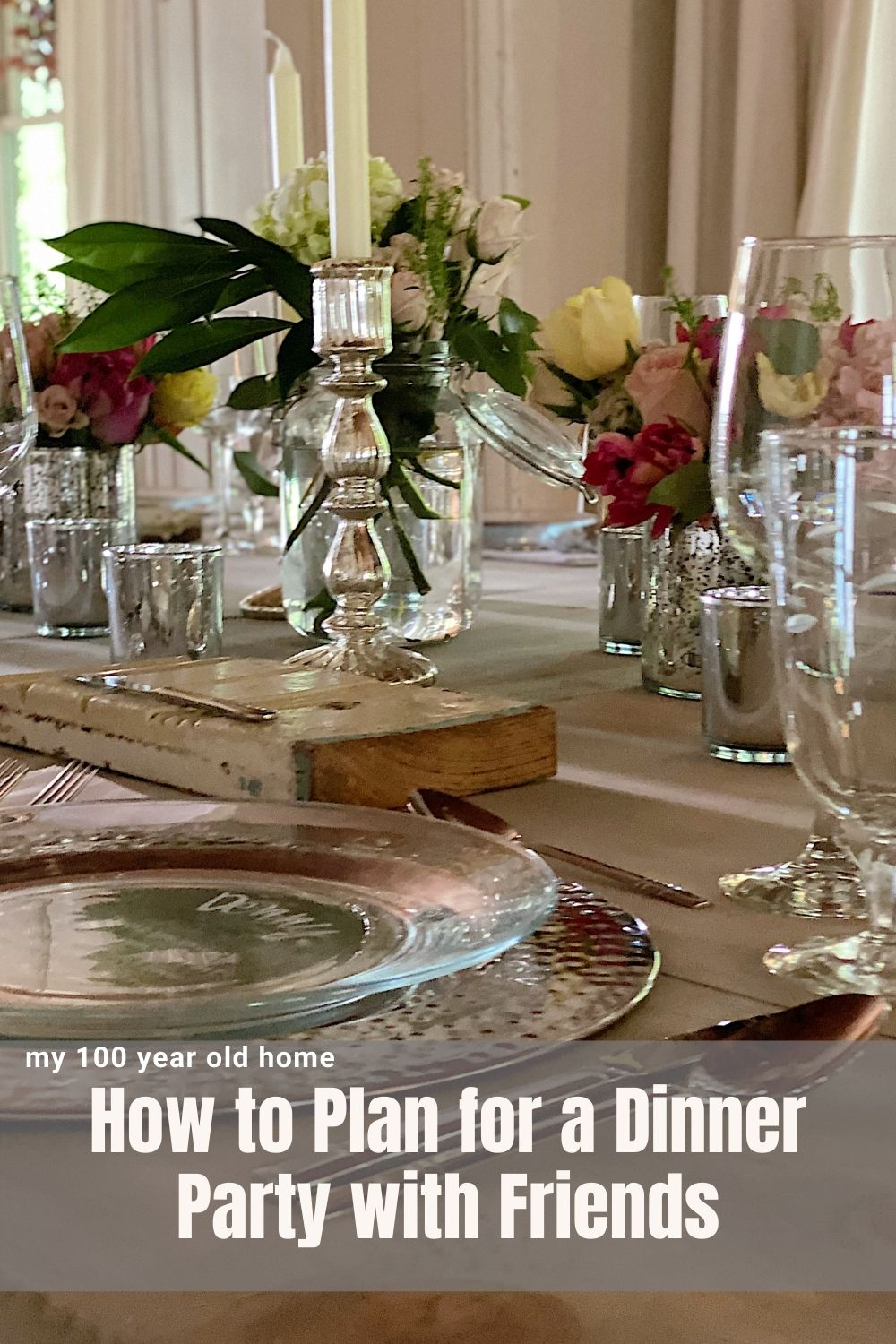 Last weekend I hosted twelve very dear friends and family members for a dinner party. I loved every minute of it and am very excited to share with all of you how to plan for a dinner party.