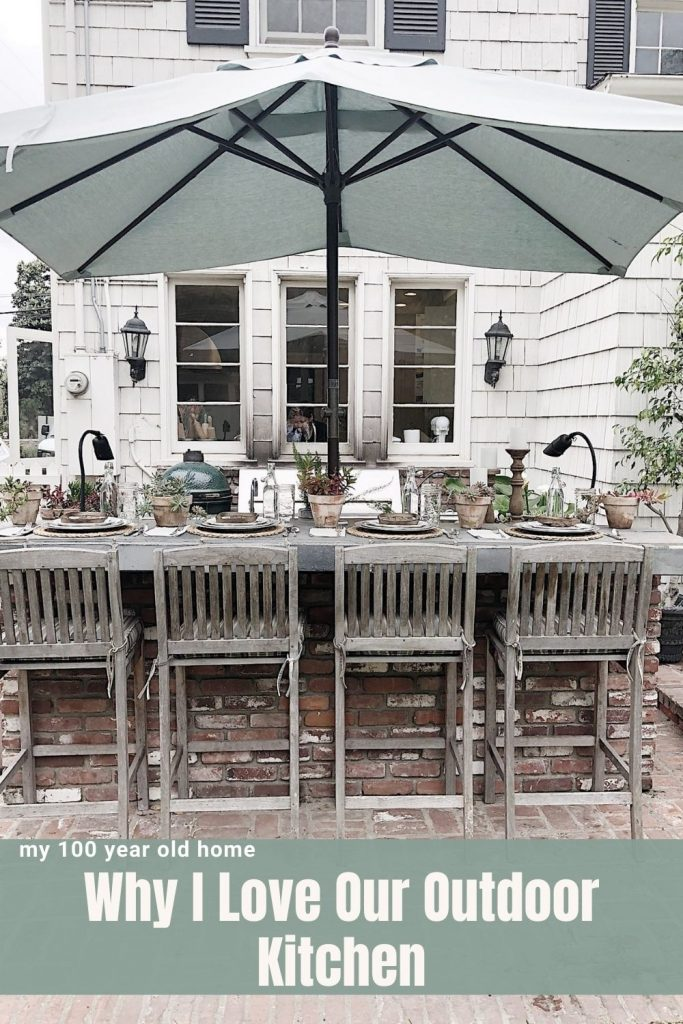 I Love Our Outdoor Kitchen