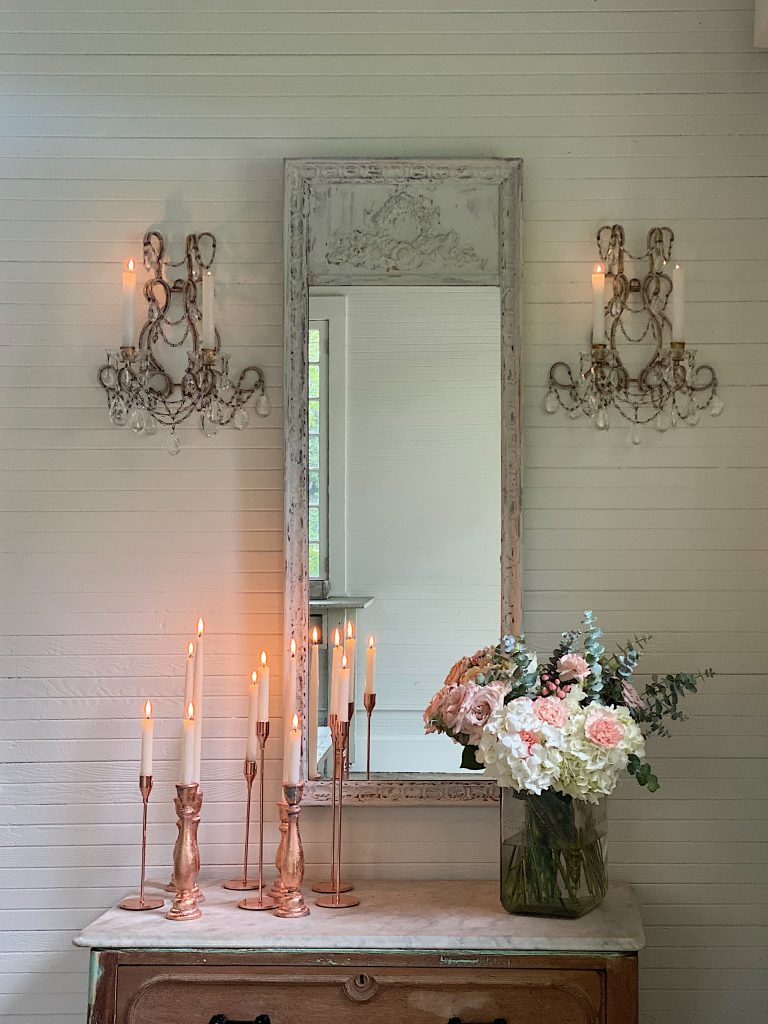 MY Favorite DIY Mirror in the Carriage House