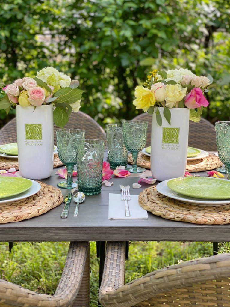 Outdoor Dining in the Garden