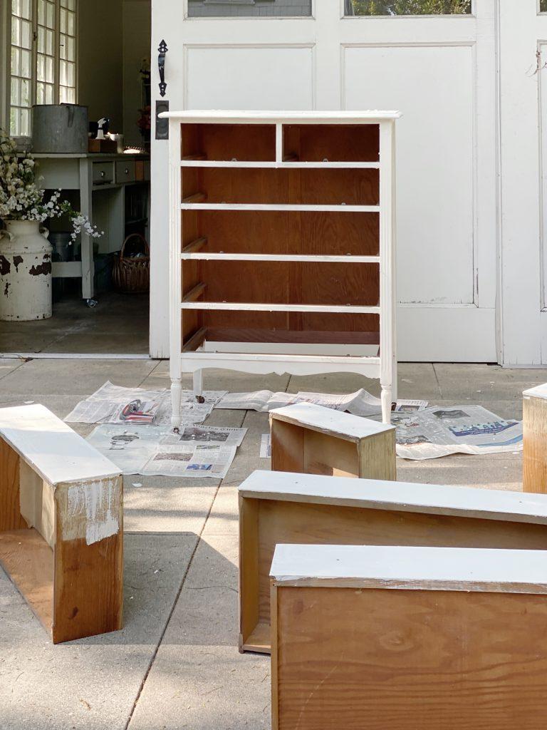 Painting Antique Furniture