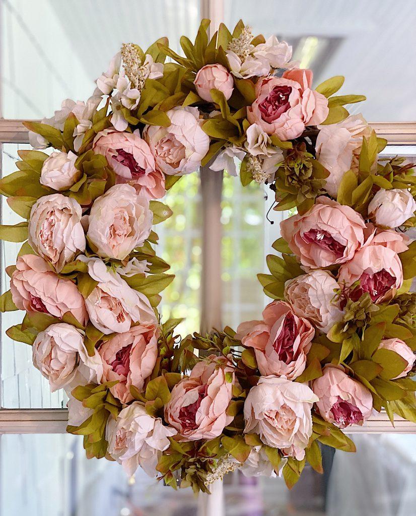 Peony Floral Wreath