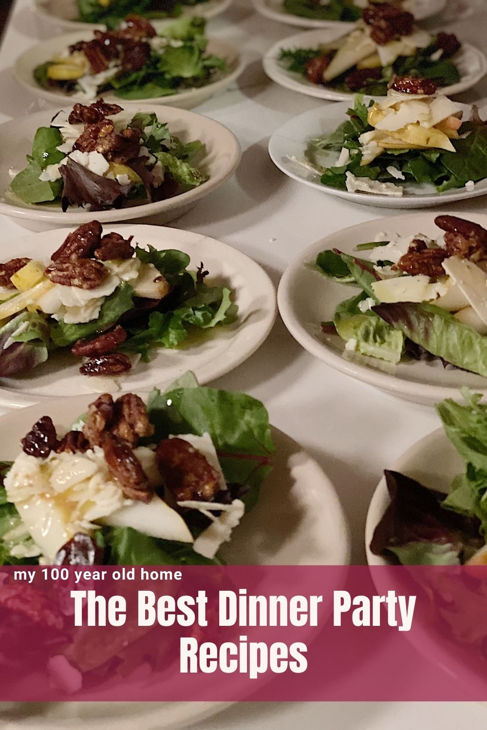 I love to cook and entertain so cooking a seven course dinner party was not hard to do. Today I am sharing my best dinner party recipes from the dinner.