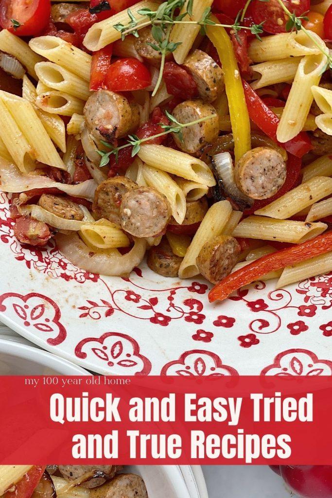 Tried and True Recipes