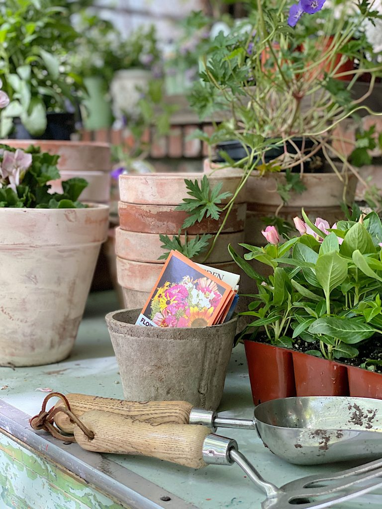 Using the Potting Bench