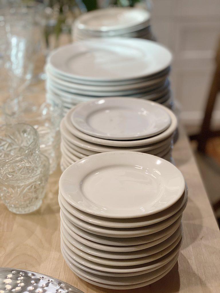 Vintage Ironstone Plates