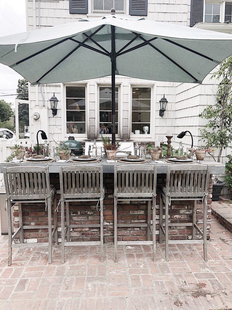 Why I Love Our Outdoor Kitchen