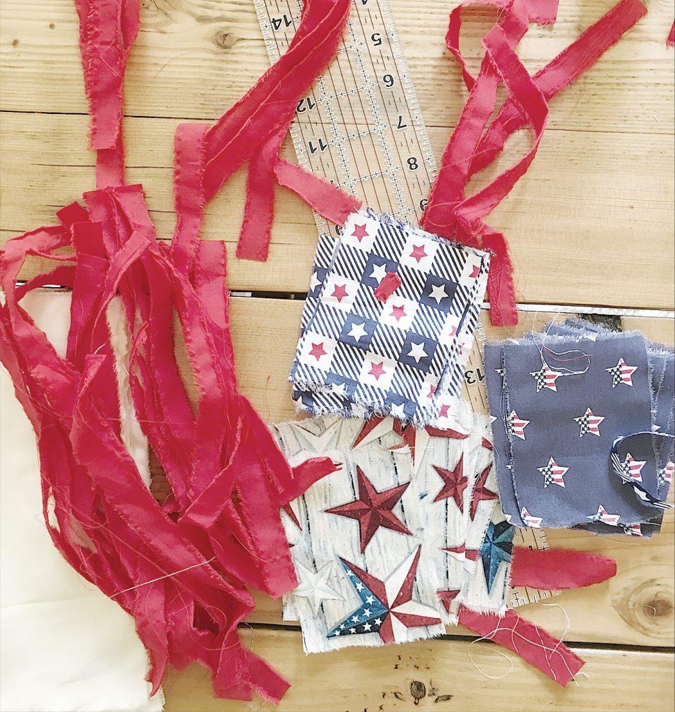 4th of July Flag Ideas Fabric