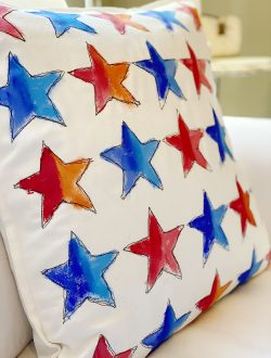 4th of July Homemade Pillow