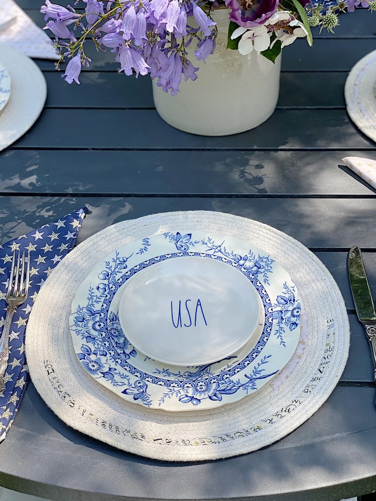 4th of July Patriotic Placemats and Napkins
