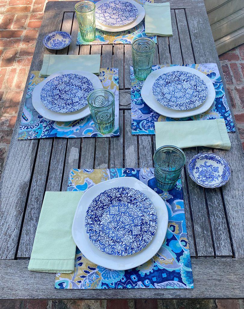 Al Fresco Dining Poolside Table
