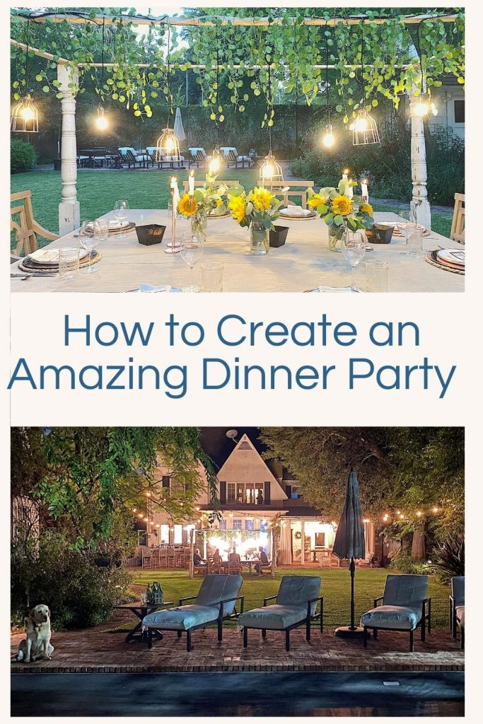 You all know how much I love entertaining. This special evening of outdoor dining was for our family and I absolutely loved how it came out.