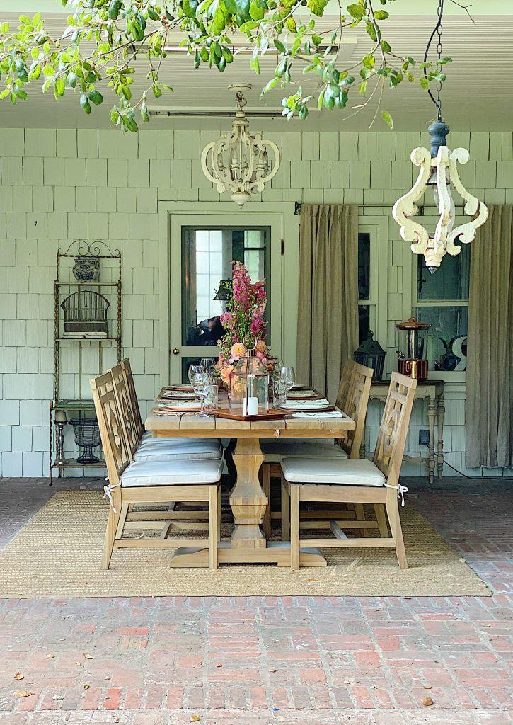 Back Porch Entertaining Ideas