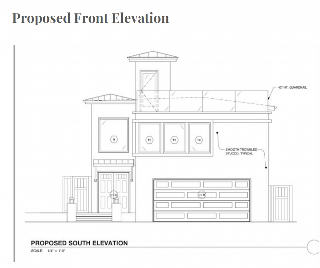 Beach House Renovations Front Elevation
