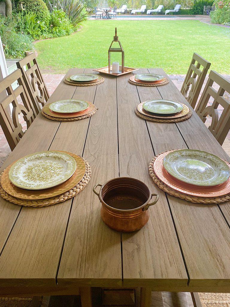 Choosing the China Plates