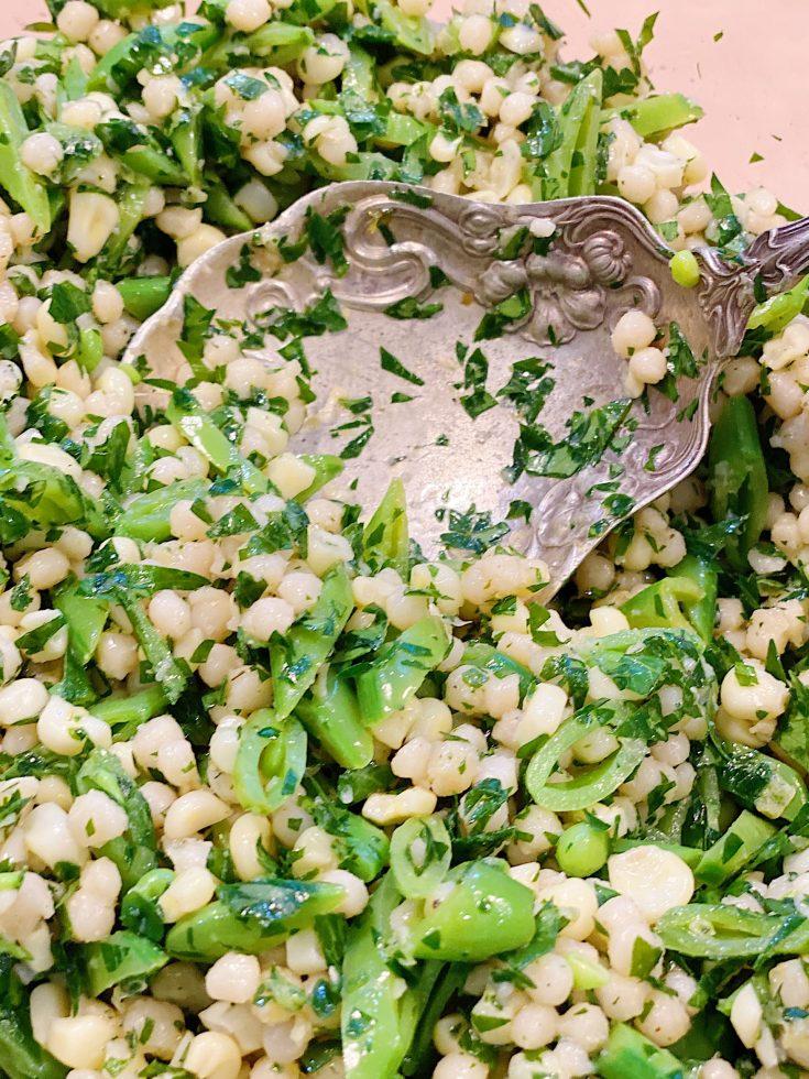 CousCous Green Salad
