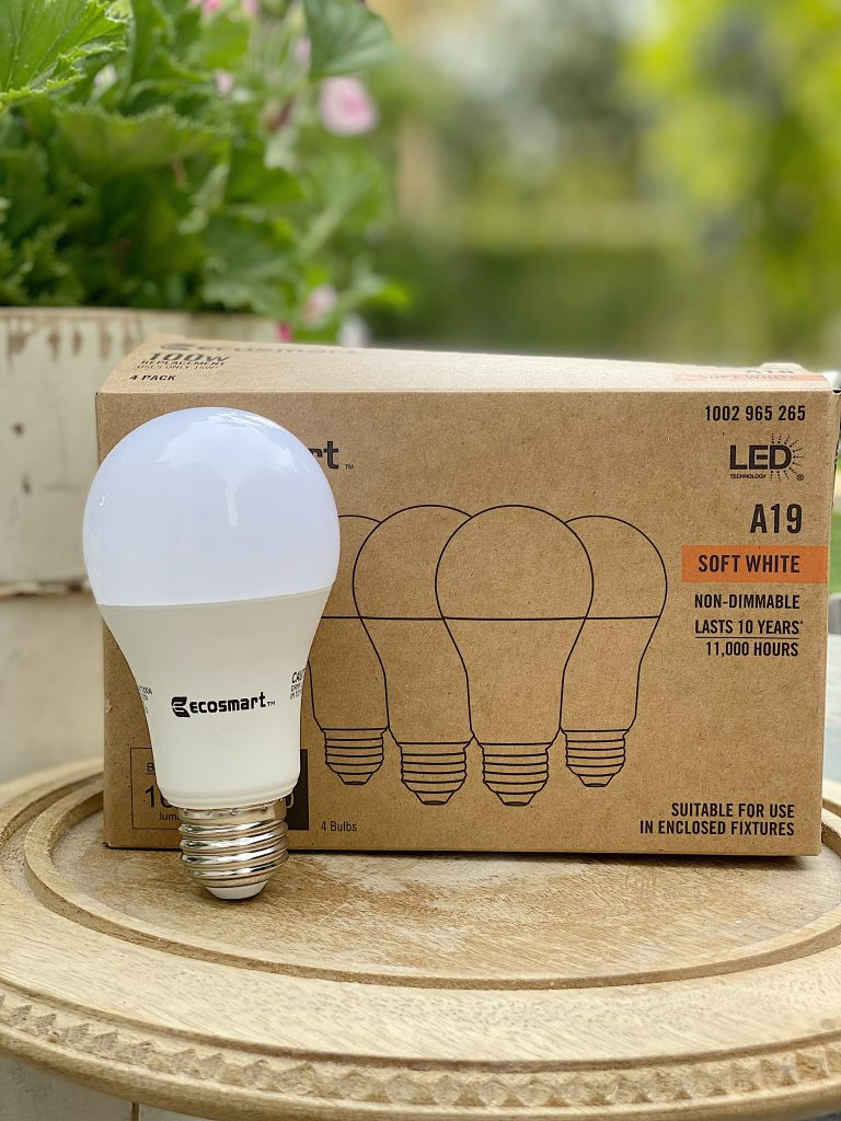 EcoSmart Light Bulb