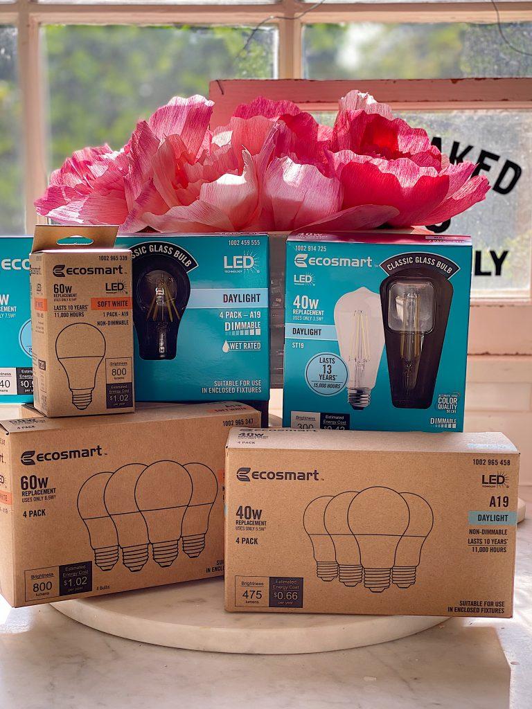 Ecosmart Light Bulbs from The Home Depot