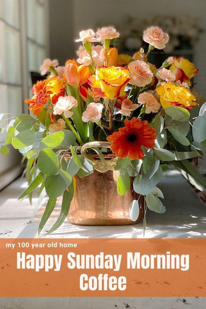 Happy Sunday Morning Coffee
